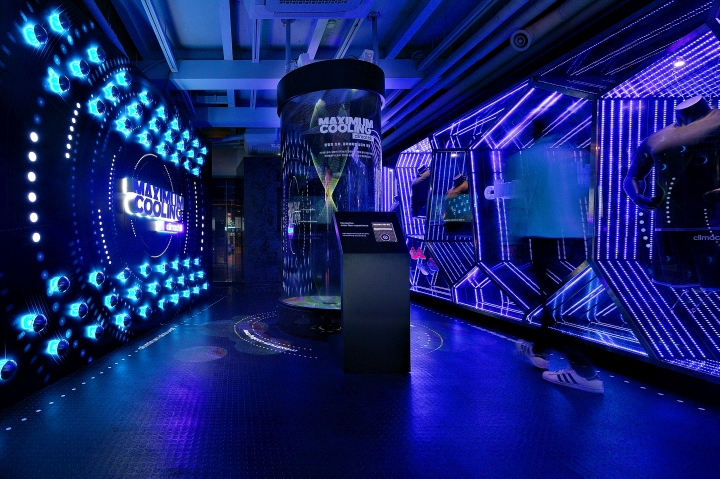 adidas Climachill Innovation Lab by URBANTAINER Seoul