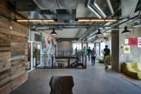Facebook office custom lighting by Studio Beam, Tel Aviv ...
