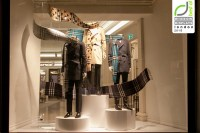 Retail Design Blog  Burberry Windows Fall 2015, London  UK