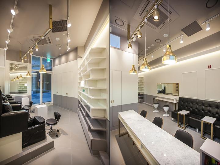 Leega Nail Salon by SSOMOO DESIGN Suwon  South Korea  Retail Design Blog