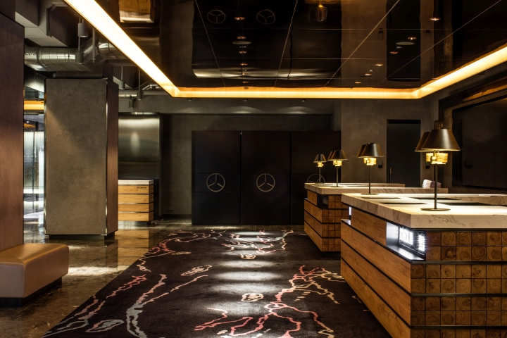 PARK LANE Hotel Lobby  Lounge by CL3 Architects Hong Kong