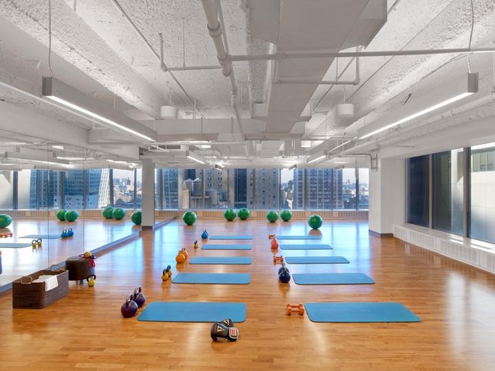 Viacom Wellness Center by M Moser Associates New York City