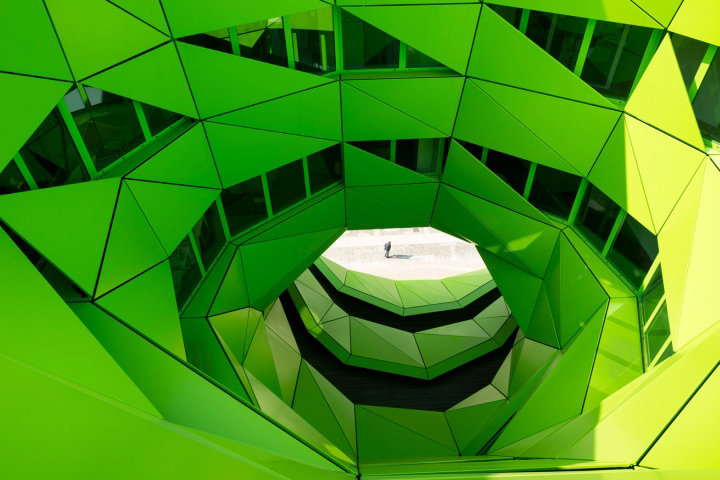 , Euronews Headquarters by Jakob + MacFarlane, Lyon – France, Office Furniture Dubai   Office Furniture Company   Office Furniture Abu Dhabi   Office Workstations   Office Partitions   SAGTCO