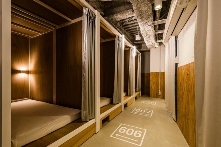 Bunka hostel by Space Design Tokyo  Japan
