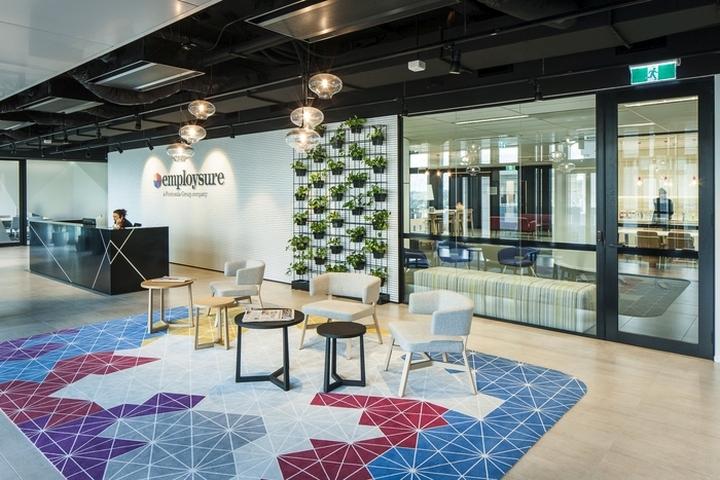 , Employsure Offices by Amicus Interiors & Siren Design, Ultimo – Australia, SAGTCO Office Furniture Dubai & Interactive Systems