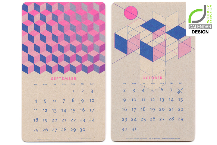 , CALENDAR DESIGN! Isometric Risograph Calendar by Jp King, Office Furniture Dubai | Office Furniture Company | Office Furniture Abu Dhabi | Office Workstations | Office Partitions | SAGTCO