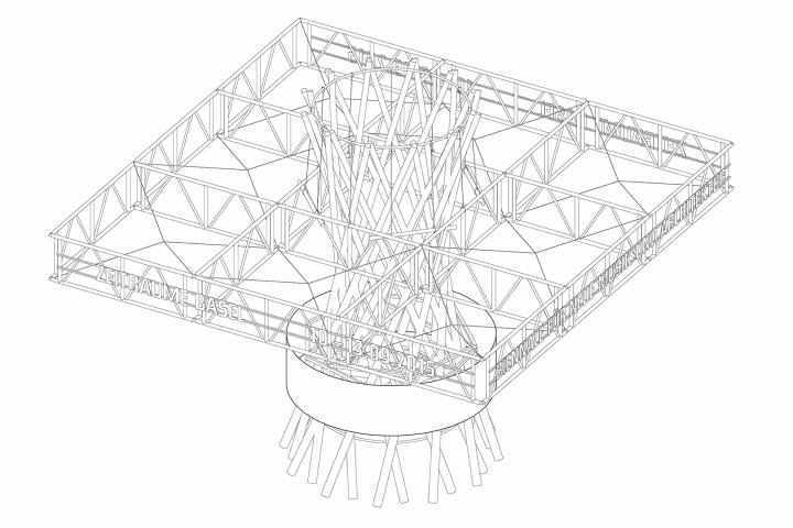 » Moving Pavilion by HHF Architects for ZeitRäume, Basel