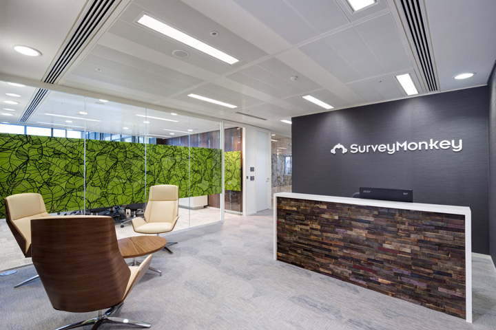 , SurveyMonkey Offices by Oktra, London – UK, Office Furniture Dubai | Office Furniture Company | Office Furniture Abu Dhabi | Office Workstations | Office Partitions | SAGTCO