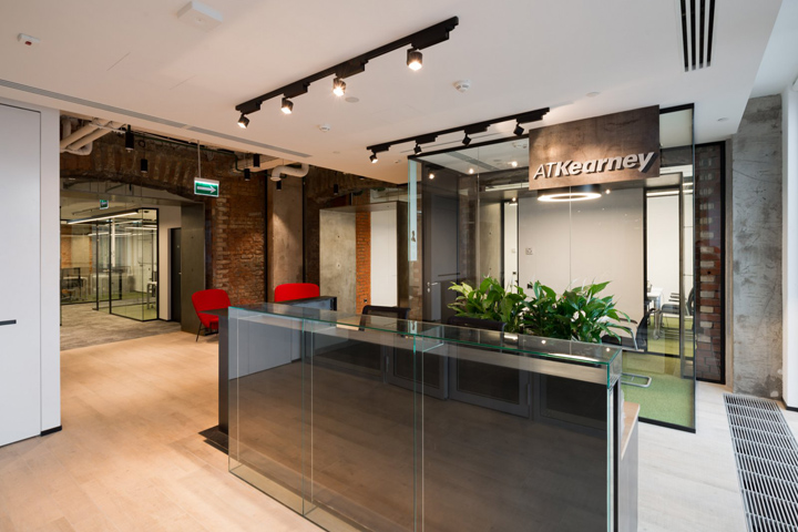 , A.T. Kearney offices by OFFCON, Moscow – Russia, Office Furniture Dubai | Office Furniture Company | Office Furniture Abu Dhabi | Office Workstations | Office Partitions | SAGTCO