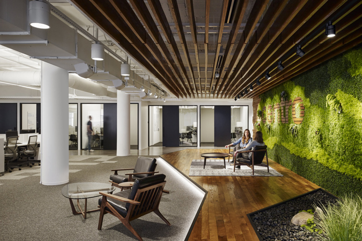 , Centro office by Partners by Design, Chicago – Illinois, SAGTCO Office Furniture Dubai & Interactive Systems