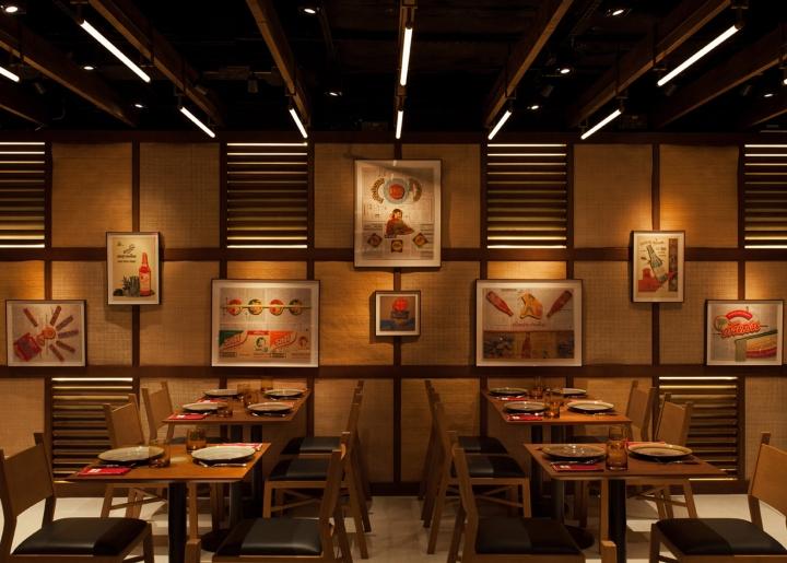 Mak Mak restaurant by NC Design  Architecture Hong Kong