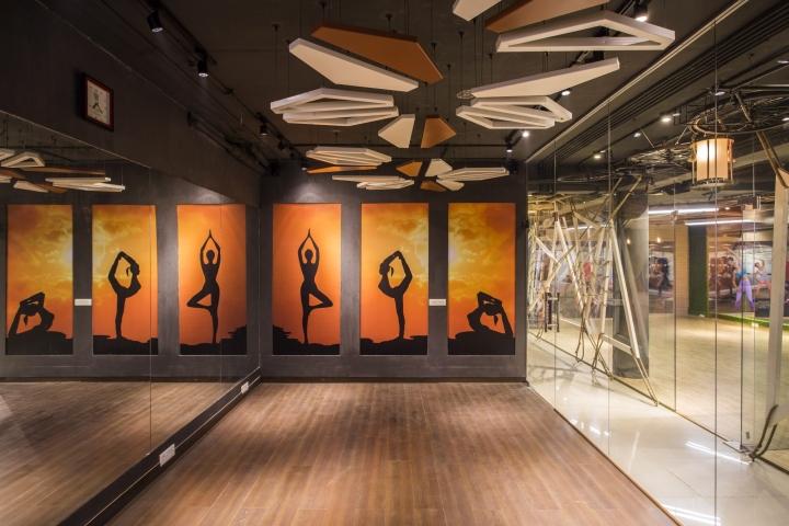 Moksha Fitness and Spa by Studio Ardete Panchkula  India