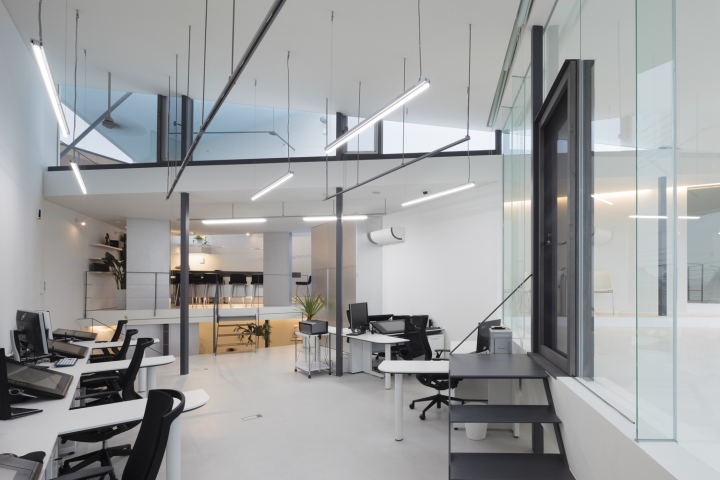 , Blues Design Office by D.I.G Architects, Obu – Japan, Office Furniture Dubai | Office Furniture Company | Office Furniture Abu Dhabi | Office Workstations | Office Partitions | SAGTCO