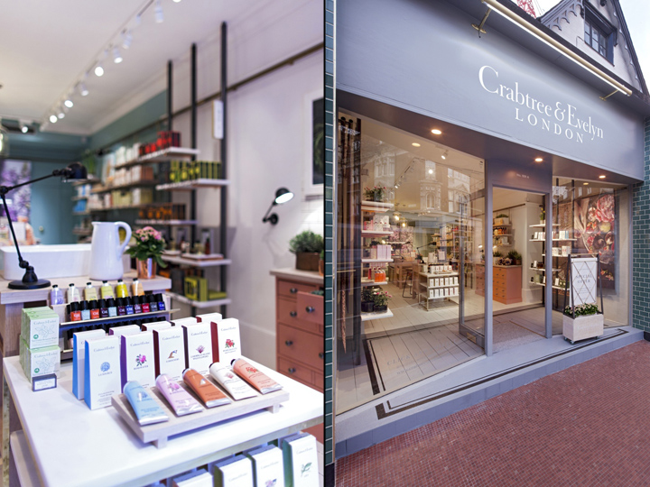Crabtree Amp Evelyn Concept Store By Dalziel Amp Pow London