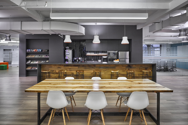 , Criteo office by HGA Architects and Engineers, New York City, SAGTCO Office Furniture Dubai & Interactive Systems