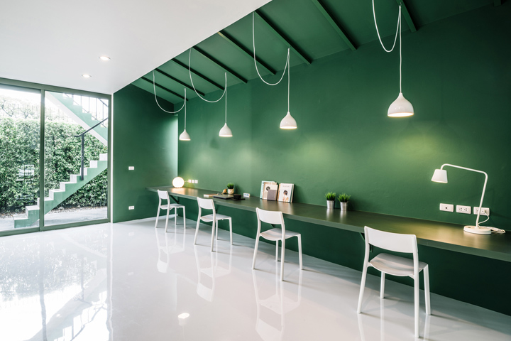 , Green 26 TV production office by Anonym, Bangkok – Thailand, Office Furniture Dubai | Office Furniture Company | Office Furniture Abu Dhabi | Office Workstations | Office Partitions | SAGTCO