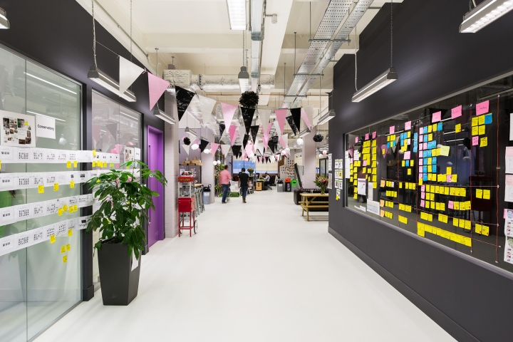 , Moonpig office by ThirdWay Interiors, London – UK, Office Furniture Dubai | Office Furniture Company | Office Furniture Abu Dhabi | Office Workstations | Office Partitions | SAGTCO