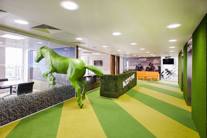 , Paddy Power office by ThirdWay Interiors, London – UK, SAGTCO Office Furniture Dubai & Interactive Systems