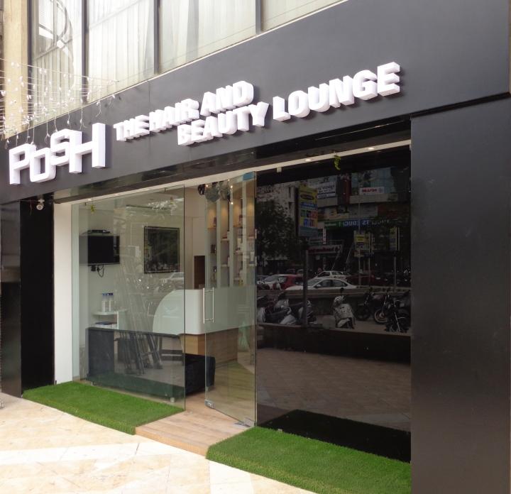 POSH Salon  Spa by Jignasu Shah Design Associates