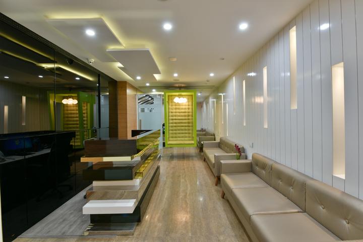 , Darsshan Group office by Kaushal Chouhan, Mumbai – India, SAGTCO Office Furniture Dubai & Interactive Systems