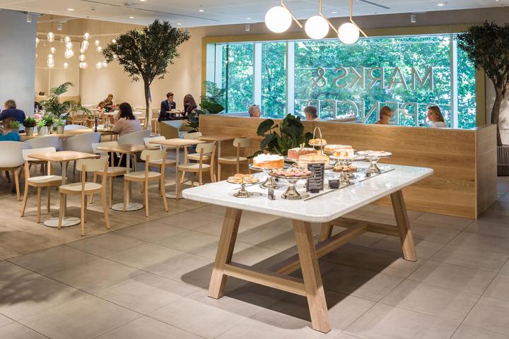 M&S Café By Kiwi & Pom Brussells – Belgium Retail Design Blog