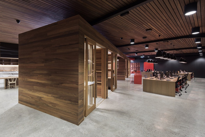 , Vic's Meat Office fit-out by Those Architects & End of Work, Sydney – Australia, SAGTCO Office Furniture Dubai & Interactive Systems