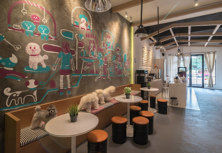 The Barkbershop Pet Grooming Studio  Cafe by Evonil