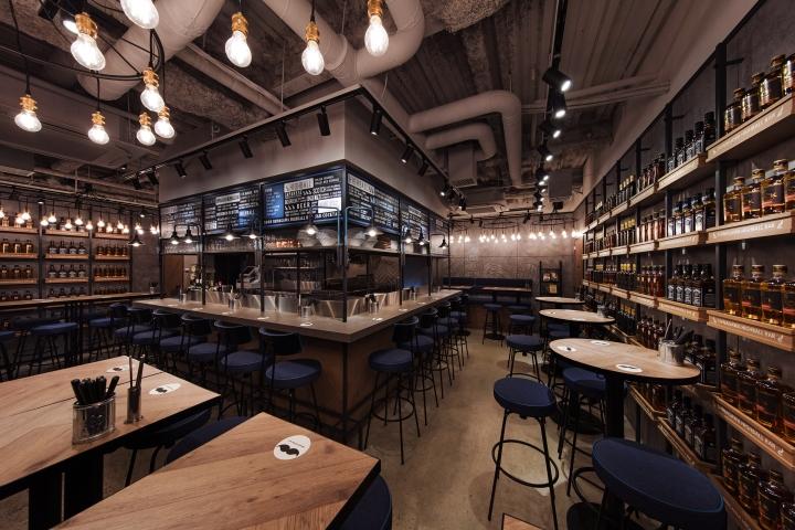 Shinagawa Highball Bar by DESIGN STUDIO CROW Tokyo  Japan