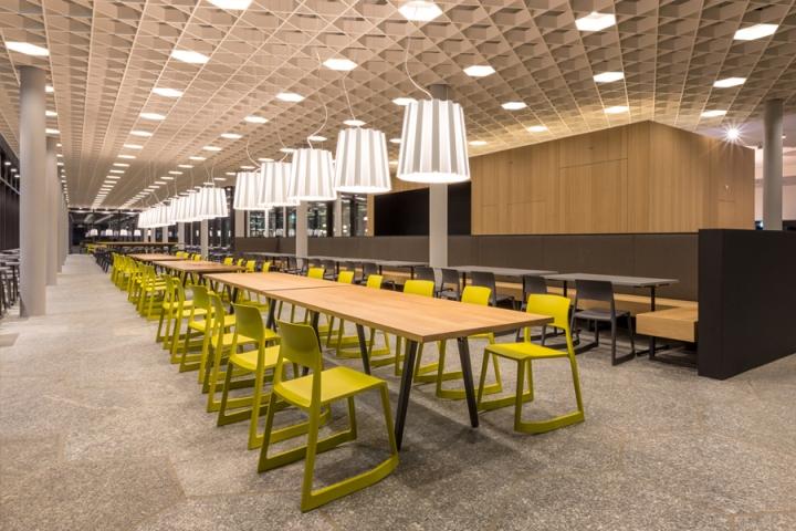 food market at the ETH Zurich by Barmade Interior Design Zurich  Switzerland  Retail Design Blog