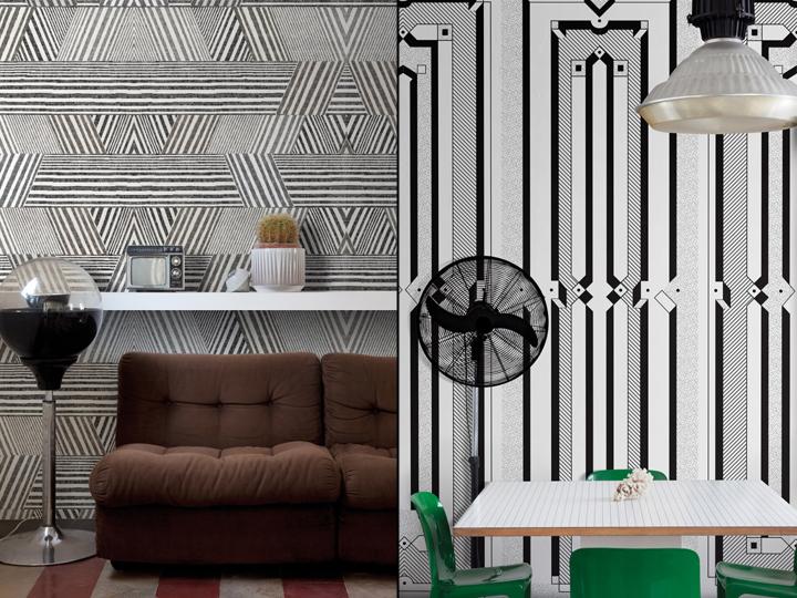 Art Deco wallpapers by Texturae  Retail Design Blog