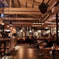 Kitchen Lighting Melbourne Island With Storage And Seating Stomping Ground Restaurant By Studio Y, ...