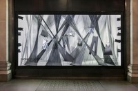 Selfridges window display for Material World campaign ...