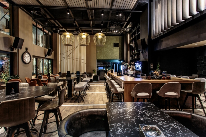 Semeli wine bar by Vasilis Papadias Igoumenitsa  Greece  Retail Design Blog