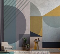 Industrial Luxe by Murals Wallpaper  Retail Design Blog