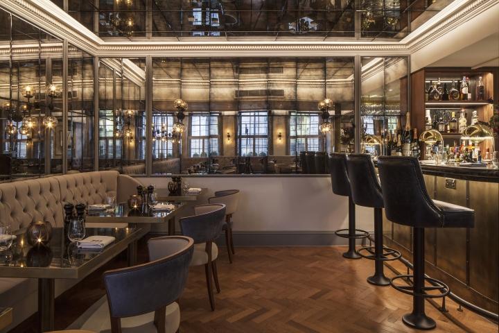 GBR Restaurant at Dukes Hotel London by DesignLSM