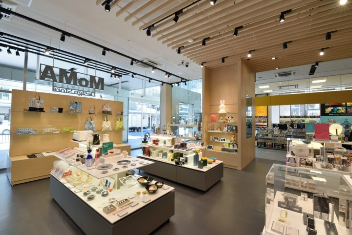 Museum of Modern Art Design Store by Lumsden Kyoto  Japan