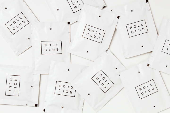 » Roll Club food delivery service identity by Canape