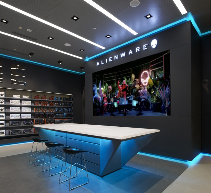 Alienware flagship store by Gramco Chongqing  China