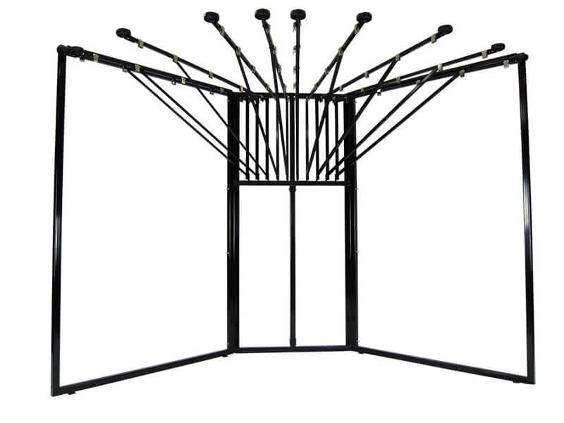 Corner Rug Rack