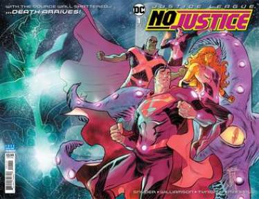 JUSTICE LEAGUE NO JUSTICE #1 (OF 4)