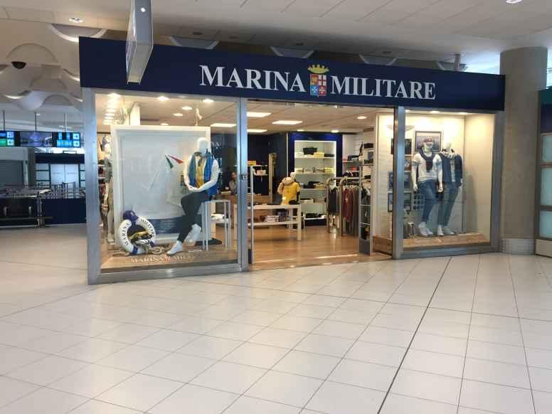 Lo store Marina Militare