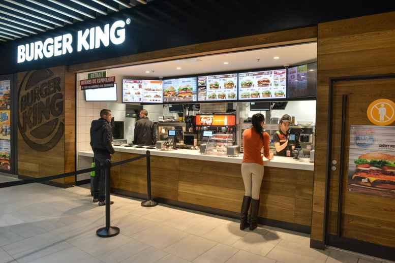 Il punto vendita Burger King