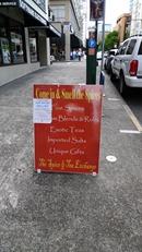 Spice and Tea Exchange Sidewalk Tent