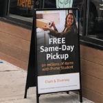 Free Same-Day Pickup Sign