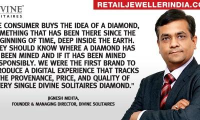 Jignesh Mehta,Founder & Managing Director, Divine Solitaires