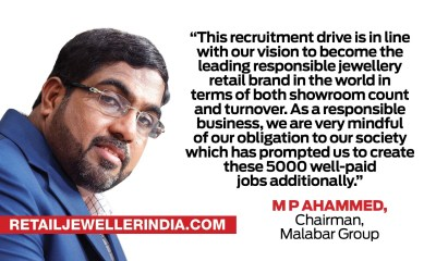 Malabar Gold & Diamonds to hire more than 5000 people