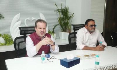 US Consul General visits Kiran Gems Private Limited
