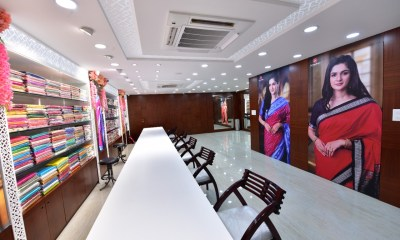 Arundhati Jewellers launches Pata silk sarees at its newly-opened jewellery store