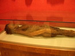 Momia de una mujer. Museo Nacional Antropología (Madrid). Foto: Marta Menacho
