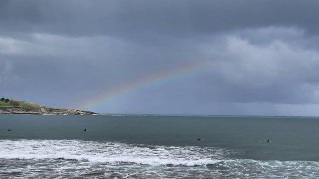 A veces la naturaleza nos regala arcoiris